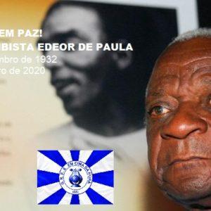 """Edeor de Paula, compositor de """"Os Sertões"""", um clássico dos sambas enredos, morre aos 87 anos"""