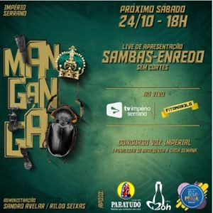 Império Serrano inscreve 31 sambas-enredo e apresenta obras durante live neste sábado (24)