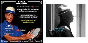 Marquinho do Pandeiro lança primeiro disco autoral em show AO VIVO, transmitido pela internet