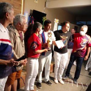 Hoje é o samba campeão do 3º Concurso de Samba de Raiz/Terreiro realizado pela Ala de Compositores do GRES União da Ilha do Governador