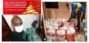 A Solidariedade continua: Diretor de bateria fornece cestas básicas para população carente