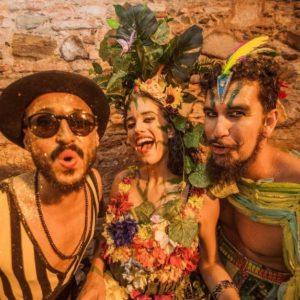 Domingo tem CarnaLIVE com Bailinho à Fantasia Em Casa