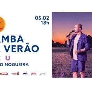 Samba de Verão – CÉU é o segundo álbum do novo projeto audiovisual do cantor Diogo Nogueira