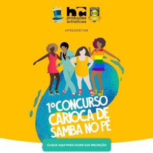 Primeiro Concurso Carioca de Samba no Pé tem inscrições prorrogadas até 15 de maio