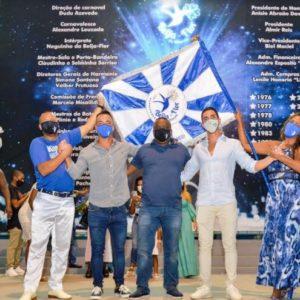Novo vice-presidente da Beija-Flor mobiliza campanha em prol de trabalhadores da escola