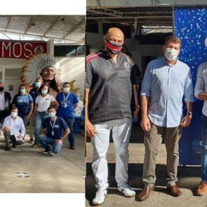 Cacique de Ramos abre as portas como ponto de vacinação contra a Covid-19