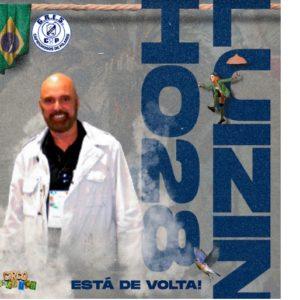 Luizinho 28 está de volta ao GRES Caprichosos de Pilares, depois de 21 anos