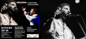 LiveShow – GONZAGUINHA: O ETERNO APRENDIZ – 30 ANOS DE SAUDADES com Rogério Silvestre e banda