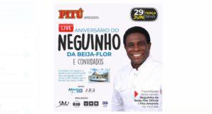 Neguinho da Beija-Flor comemora aniversario com #liveshow