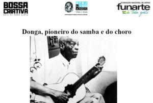Donga, pioneiro do samba e do choro