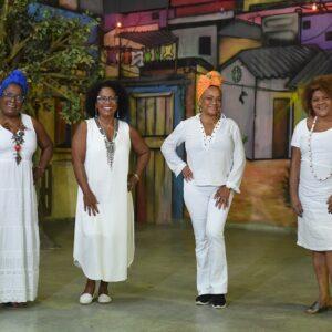 O grupo Matriarcas do Samba estreia no Teatro Rival Refit