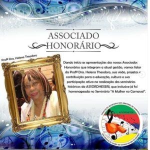 Assordheserj começa a série de homenagens aos contemplados com o título de Sócio Honorário
