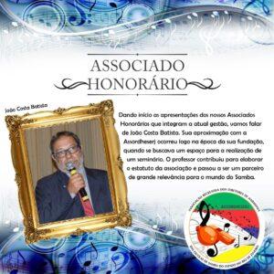 Assordheserj apresenta mais um grande homenageado com o título de Sócio Honorário