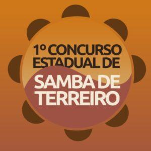 Conheça os sambas que estão concorrendo no 1º Concurso Estadual de Samba de Terreiro