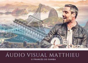 Matthieu – O Francês do Samba grava DVD no Rio de Janeiro