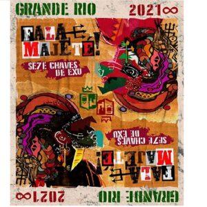 Grande Rio terá seis samba na semifinal na próxima quarta-feira(25)