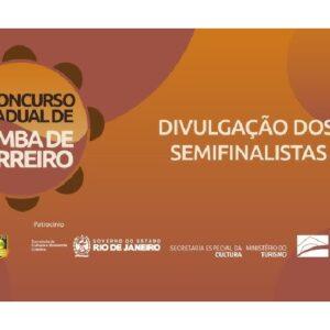 O 1º Concurso Estadual de Samba de Terreiro avança para a fase semifinal