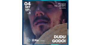 Dudu Godoi canta no Centro da Música Carioca Artur da Távola em show especial