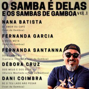 """Ivan Gamboa destaca o canto feminino em seu primeiro EP """"O Samba na voz das mulheres"""""""