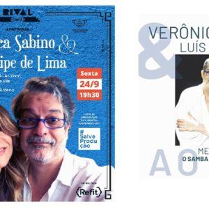 VERÔNICA SABINO & LUÍS FILIPE DE LIMA REVERENCIAM MARTINHO DA VILA